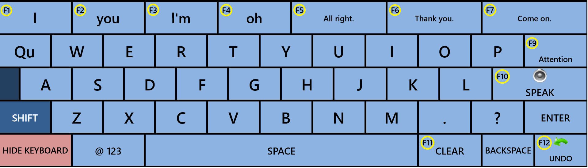AlphaCore TouchType Keyboard